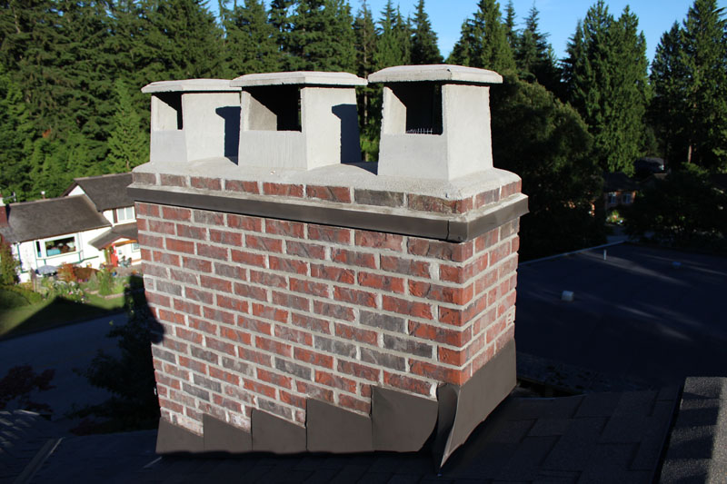 Chimney Pot / Rain Cap Installation and Drip Edge Installation | Red Brick Chimney Services