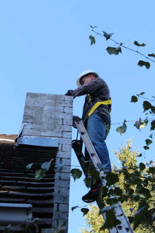 Chimney Removal | Red Brick Chimney Services
