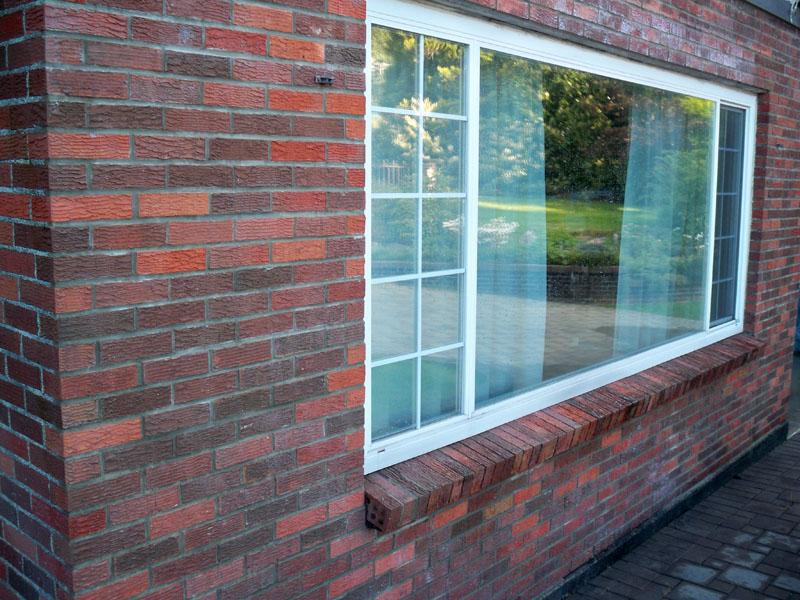 Brick Masonry Repair Housefront | Red Brick Chimney Services