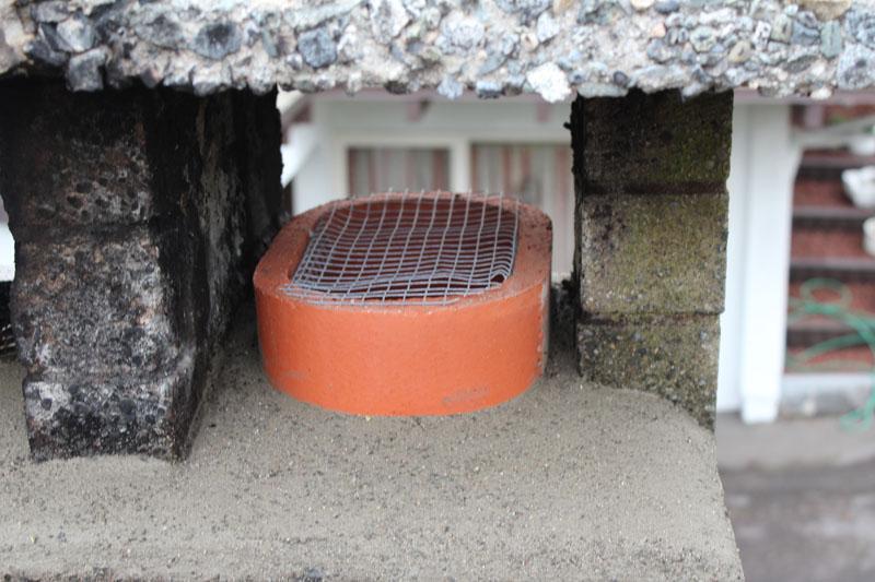 Pest Screen Installation | Red Brick Chimney Services