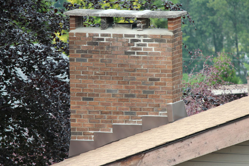 Flashing and Crown Installation | Red Brick Chimney Services
