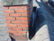 Flashing Installation - Before | Red Brick Chimney Services